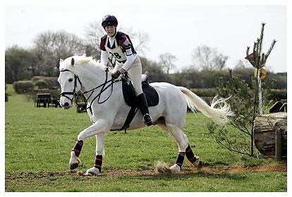 Buckingham Riding Club Eventer Trials at Milton Keynes Riding Club..5-4-2009.Victors Talisman