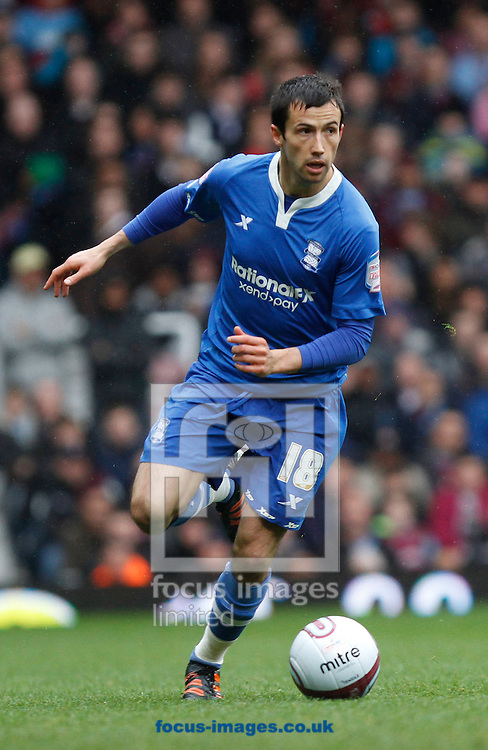 Picture by Daniel Chesterton/Focus Images Ltd. 07966 018899.09/04/12.Keith Fahey of Birmingham City during the Npower Championship match at the Boleyn Ground stadium, London.