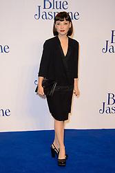 Blue Jasmine - UK film premiere. <br /> Marama Corlett arrives for the Blue Jasmine film premiere, Odeon, London, United Kingdom. Tuesday, 17th September 2013. Picture by Chris Joseph / i-Images