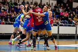 Nina Zulic of Slovenija during friendly game between national teams of Slovenia and Serbia on 29th of September, Celje, Slovenija 2018