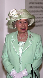 HM THE QUEEN at a reception in London on <br /> 11th May 2000.ODU 61 wo