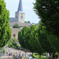 27-05-2016: Wielrennen: Boels Rental Classic: Valkenburg<br /> VALKENBURG (NED) wielrennen<br />Passage Berg en Terblijt