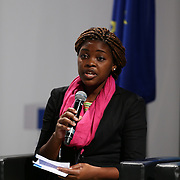 03 June 2015 - Belgium - Brussels - European Development Days - EDD - Special Event - A more connected , contested and complex world is in your hands - A conversation with Federica Mogherini and Sam Kutesa - Catherine Mloza Banda , Future Leader © European Union