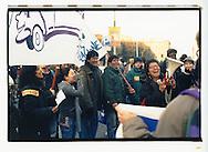 Manifestazione nazionale contro la legge Bossi-Fini sull'immigrazione. Roma, 19 gennaio 2002. Associazione Todo Cambia, Milano.