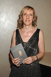 Writer JEAN SPRACKLAND at the 2007 Costa Book Awards held at The Intercontinental Hotel, One Hamilton Place, London W1 on 22nd January 2008.<br />
