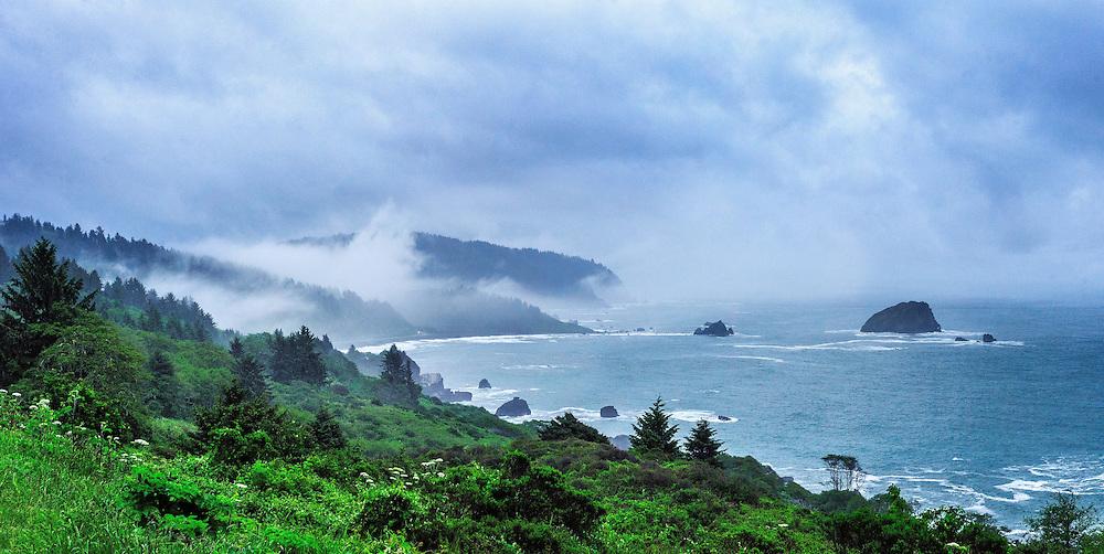 California Coast, Outside of Crescent City, CA