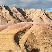 Yellow mounds overlook, Badlands National Park, South Dakota, USA.