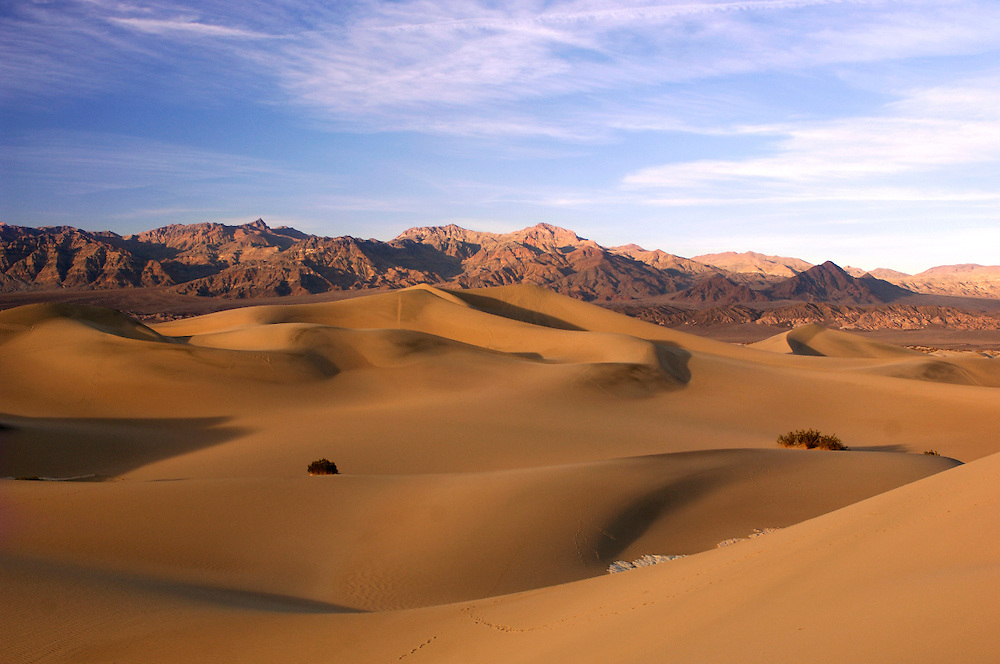 Sunset at Sand Dunes, Death Valley National Park, California, United States of America