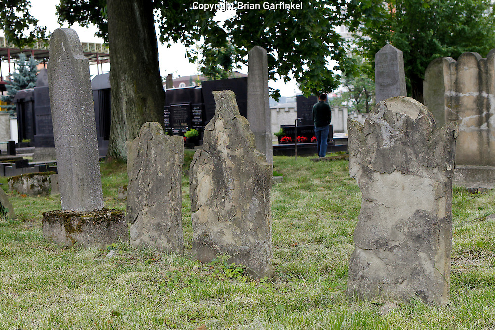 The Jewish cemetery in Zilina, Slovakia on Sunday July 3rd 2011. (Photo by Brian Garfinkel)