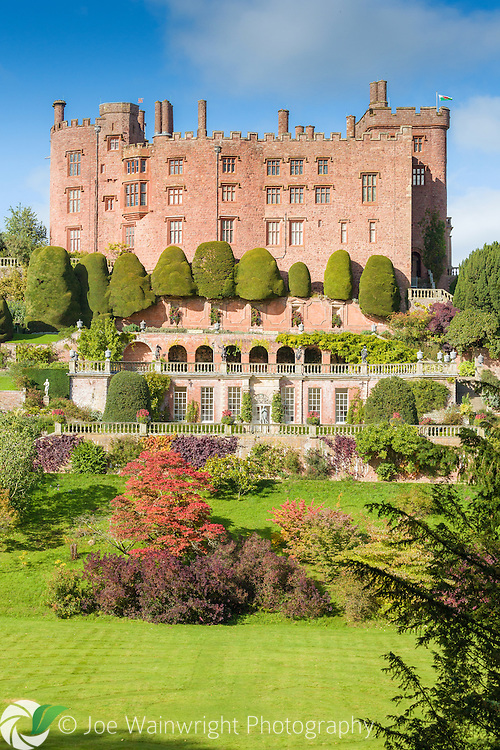 Built in the 13th century as a fortress for Welsh princes, Powis Castle, Welshpool, now boasts glorious terraced gardens, constructed in the 17th century.