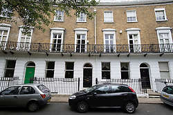 **Picture taken on a private road** London, UK. 15/05/2011. 8 Crescent Grove, Clapham, London (Centre ) The home of Vicky Pryce the ex wife of Energy and Climate Change Secretary Chris Huhne. Photo credit should read: Ben Cawthra/LNP.