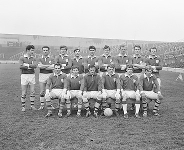 28.02.1971 Football Railway Cup Semi. Munster Vs Ulster.Munster Team