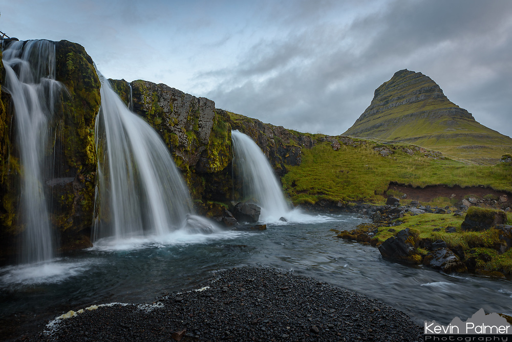 This is the lower view of Kirkjufellsfoss. The light had already gone flat by the time I made it down here.