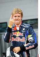 Grand Prix de Corée de Formule un..YEONGAM 22/10/10 ..2er séance d'essai...Photo Stéphane Mantey/L 'Equipe. *** Local Caption *** vettel (sebastian) - (ger) -