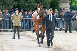 Bschorer Niklas, (GER), Tom Tom Go 3<br /> First Horse Inspection - Mitsubishi Motors Badminton Horse Trials <br /> Badminton 2015