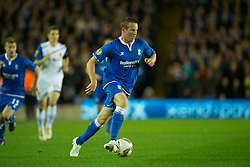 BIRMINGHAM, ENGLAND - Thursday, November 3, 2011: Birmingham City's Adam Rooney in action against Club Brugge during the UEFA Europa League Group H match at St. Andrews. (Pic by David Rawcliffe/Propaganda)