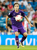 ACF Fiorentina's Federico Chiesa during Santiago Bernabeu Trophy. August 23,2017. (ALTERPHOTOS/Acero)