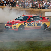 Vauxhall Road Train at the Goodwood FOS on 28 June 2015