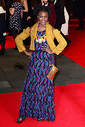 Shingai Shoniwa attends The Royal Film Performance of Mandela Loing Walk To Freedom Film Premiere at Odeon Leicester Square, London, United Kingdom. Thursday, 5th December 2013. Picture by Nils Jorgensen / i-Images