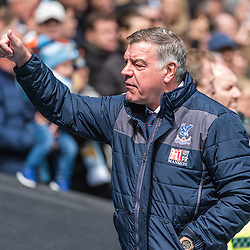 Crystal Palace manager Sam Allardyce in the English Premier League match between Manchester City and Crystal Palace<br /> (c) John Baguley | SportPix.org.uk
