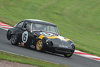 #15 Ian HULETT Austin Healey Sprite  during CSCC Adams & Page Swinging Sixties Series  as part of the CSCC Oulton Park Cheshire Challenge Race Meeting at Oulton Park, Little Budworth, Cheshire, United Kingdom. June 02 2018. World Copyright Peter Taylor/PSP.
