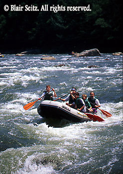 PA landscapes PA landscapes,  Whitewater Rafting on Youghiogheny River, Ohiopyle State Park, Fayette County, Laurel Highlands, PA
