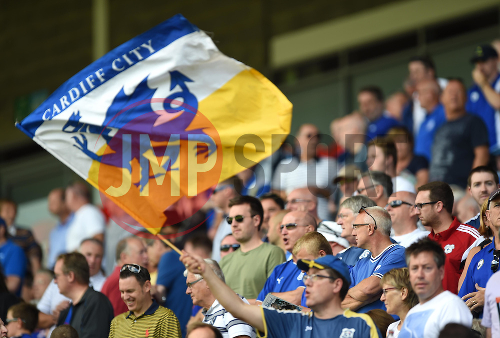 Supporters at Cardiff City Stadium - Mandatory by-line: Paul Knight/JMP - Mobile: 07966 386802 - 08/08/2015 -  FOOTBALL - Cardiff City Stadium - Cardiff, Wales -  Cardiff City v Fulham - Sky Bet Championship
