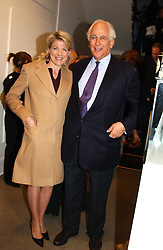 SIR EVELYN & LADY DE ROTHSCHILD at 'A Night at Crumbland' an evening to celebrate the launch of the Stella McCartnry and Robert Crumb collaboration aand the publication of the R.Crumb handbook, held at Stella McCartney, 30 Bruton Street, London W1 on 17th March 2005.<br />