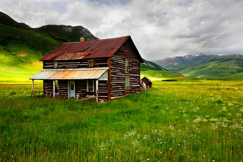 Ranch house near crested butte colorado adam schallau for Cabins near crested butte co