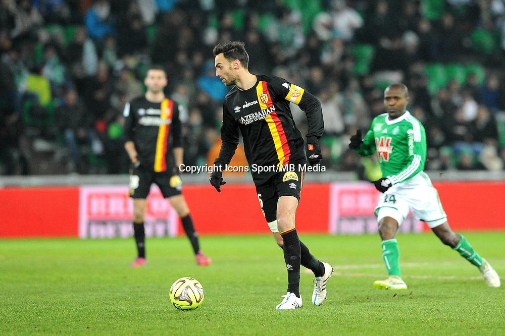 Jerome LE MOIGNE   - 06.02.2015 - Saint Etienne / Lens - 24eme journee de Ligue 1 -<br /> Photo : Jean Paul Thomas / Icon Sport