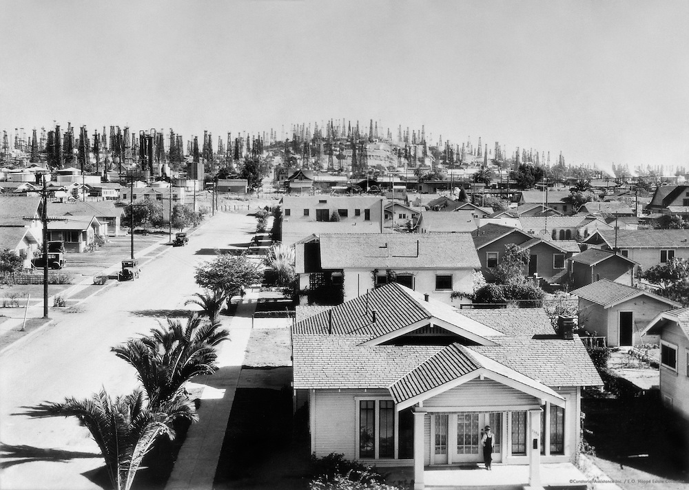 Houses at Signal Hill, Los Angeles, California, 1926