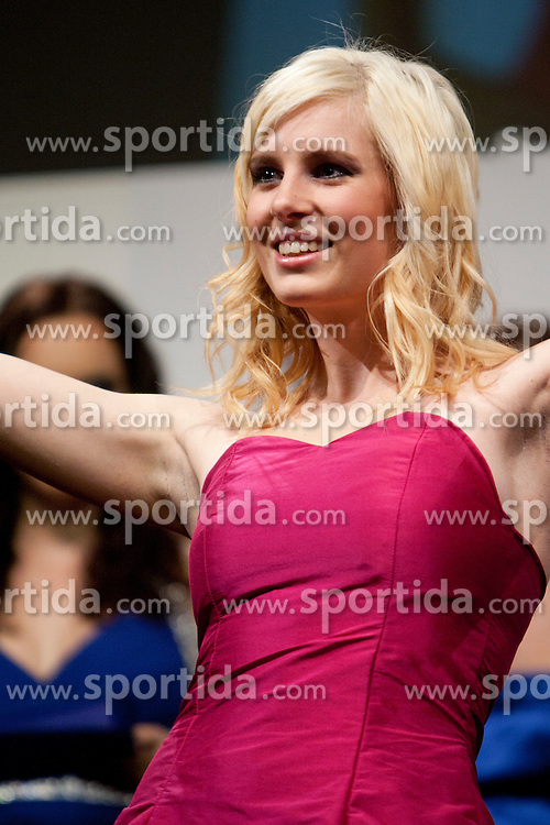Gina Legnar during event Miss Sports of Slovenia 2012, on April 21, 2012, in Festivalna dvorana, Ljubljana, Slovenia. (Photo by Urban Urbanc / Sportida.com)