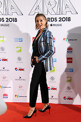 The annual Australian Record Industry Awards celebrate the best in music, held at The Star, Pyrmont, Sydney, Australia. 28 Nov 2018 Pictured: KLP, Kristy Lee Peters. Photo credit: Richard Milnes / MEGA TheMegaAgency.com +1 888 505 6342