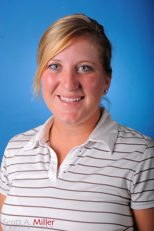 Carrie Riordan during a portrait session prior to the second stage of LPGA Qualifying School at the Plantation Golf and Country Club on Sept. 24, 2011 in Venice, FL...©2011 Scott A. Miller
