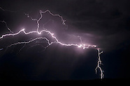 LIGHTNING IN THE NEW MEXICO LANDSCAPE