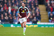 Burnley midfielder George Boyd (21)  during the Premier League match between Burnley and Chelsea at Turf Moor, Burnley, England on 12 February 2017. Photo by Simon Davies.