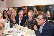 BLAINE TRUMP; DIXON BOARDMAN; PRINCESS FIRYAL; BOB COLACELLO, Aby Rosen & Samantha Boardman Dinner at Solea,Collins ave,  Miami Beach. 2 December 2010. -DO NOT ARCHIVE-© Copyright Photograph by Dafydd Jones. 248 Clapham Rd. London SW9 0PZ. Tel 0207 820 0771. www.dafjones.com.