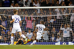 29.08.2013, White Hart Lane, London, ENG, UEFA CL Qualifikation, Tottenham Hotspur vs FC Dinamo Tiflis, Rueckspiel, im Bild Tottenham's Jermain Defoe scores a goal during the UEFA Europa League Qualifier second leg match between Tottenham Hotspur and FC Dinamo Tiflis Zuerich at the White Hart Lane in London, England on 2013/08/29 . EXPA Pictures © 2013, PhotoCredit: EXPA/ Mitchell Gunn <br /> <br /> ***** ATTENTION - OUT OF GBR *****