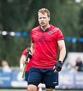 AMSTELVEEN - Brenden Bissett (Nijmegen)   Play Outs Hockey hoofdklasse. Pinoke-Nijmegen (1-1) . Pinoke wint de shoot outs en blijft in de hoofdklasse. COPYRIGHT KOEN SUYK