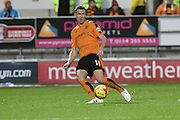 Wolverhampton Wanderers midfielder Kevin McDonald  during the Sky Bet Championship match between Rotherham United and Wolverhampton Wanderers at the New York Stadium, Rotherham, England on 5 December 2015. Photo by Ian Lyall.