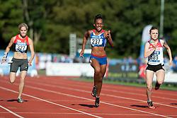 SEIFERT Maria, FRANCOIS-ELIE Mandy, SAPOZHNIKOVA Anna, 2014 IPC European Athletics Championships, Swansea, Wales, United Kingdom