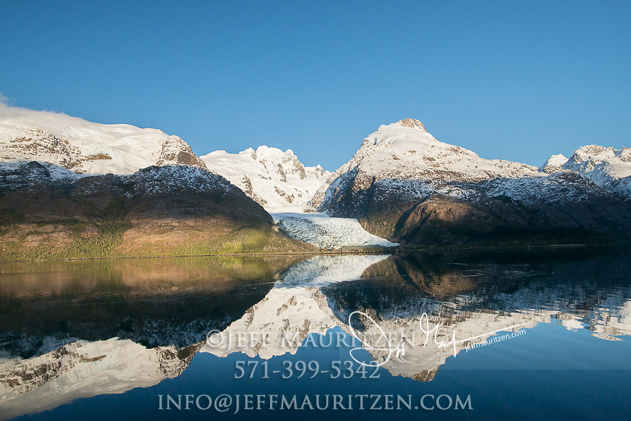 Bernal glacier (Benito glacier) located in Alacalufes National Reserve, Southern Chilean Fjords.