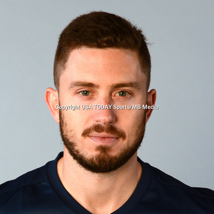 Feb 25, 2016; USA; New England Revolution player Chris Tierney poses for a photo. Mandatory Credit: USA TODAY Sports