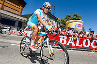 Aru Fabio - Astana - 27.05.2015 - Tour d'Italie - Etape 17 -  Tirano / Lugano<br />