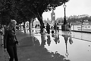 Puddles on the Southbank, , Bank Holiday Sunday, August 2018