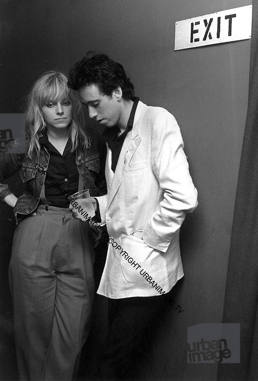 Mick Jones and Ellen Foley - London 1981