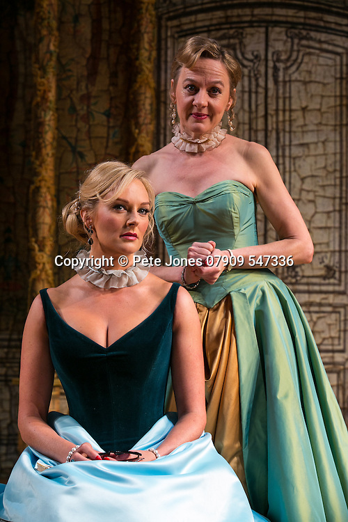 The Rehearsal by Jean Anouilh;<br /> Directed by Jeremy Sams;<br /> Niamh Cusack as The Countess;<br /> Katherine Kingsley as Hortensia;<br /> Minerva Theatre, Chichester;<br /> 13 May 2015