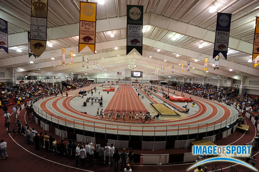 Mar 14, 2008; Fayetteville, AR, USA; General view of the Randal Tyson Center, the venue for the NCAA indoor track and field championships.
