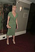 Tamzin Outhwaite, Laurence Olivier Awards 2007. Grosvenor House Hotel. London. 8 February 2007.  -DO NOT ARCHIVE-© Copyright Photograph by Dafydd Jones. 248 Clapham Rd. London SW9 0PZ. Tel 0207 820 0771. www.dafjones.com.