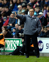 Photo: Jed Wee.<br />Wigan Athletic v Liverpool. The Barclays Premiership. 11/02/2006.<br />Liverpool's manager Rafael Benitez.